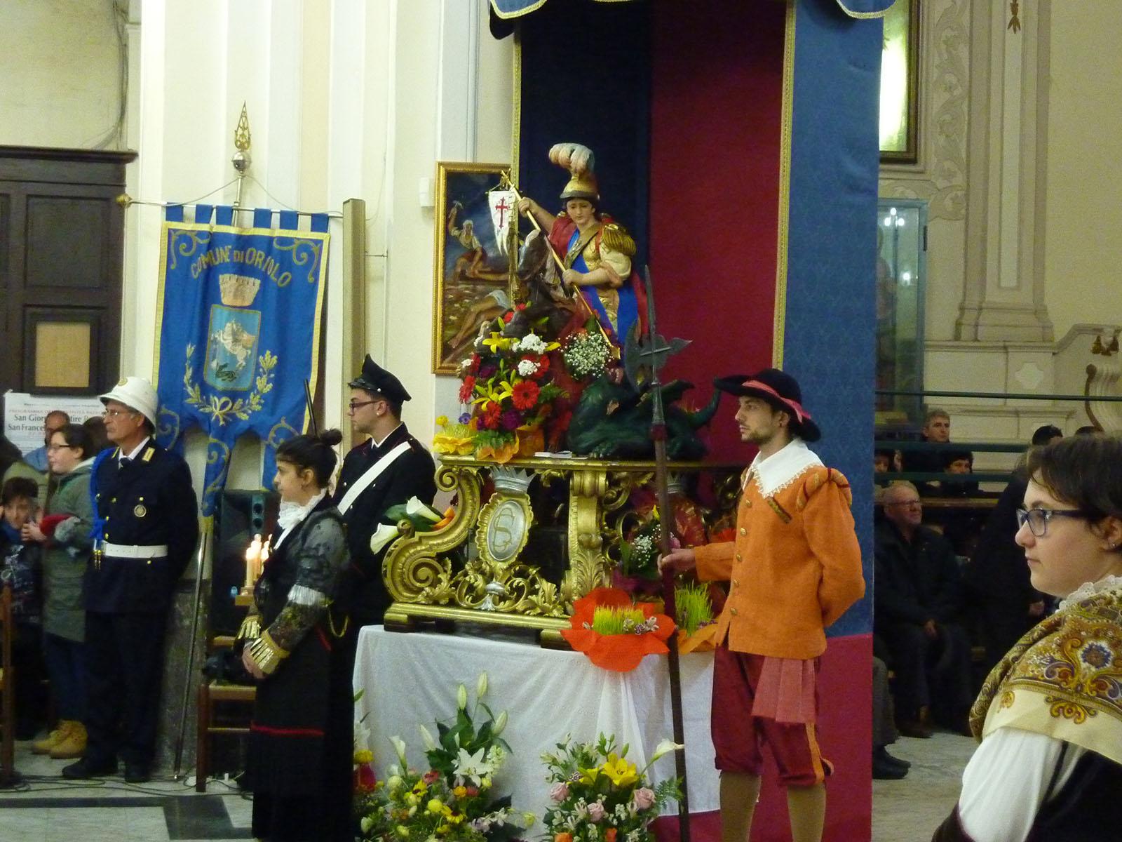 Cammino Basiliano: Costume di San Giorgio