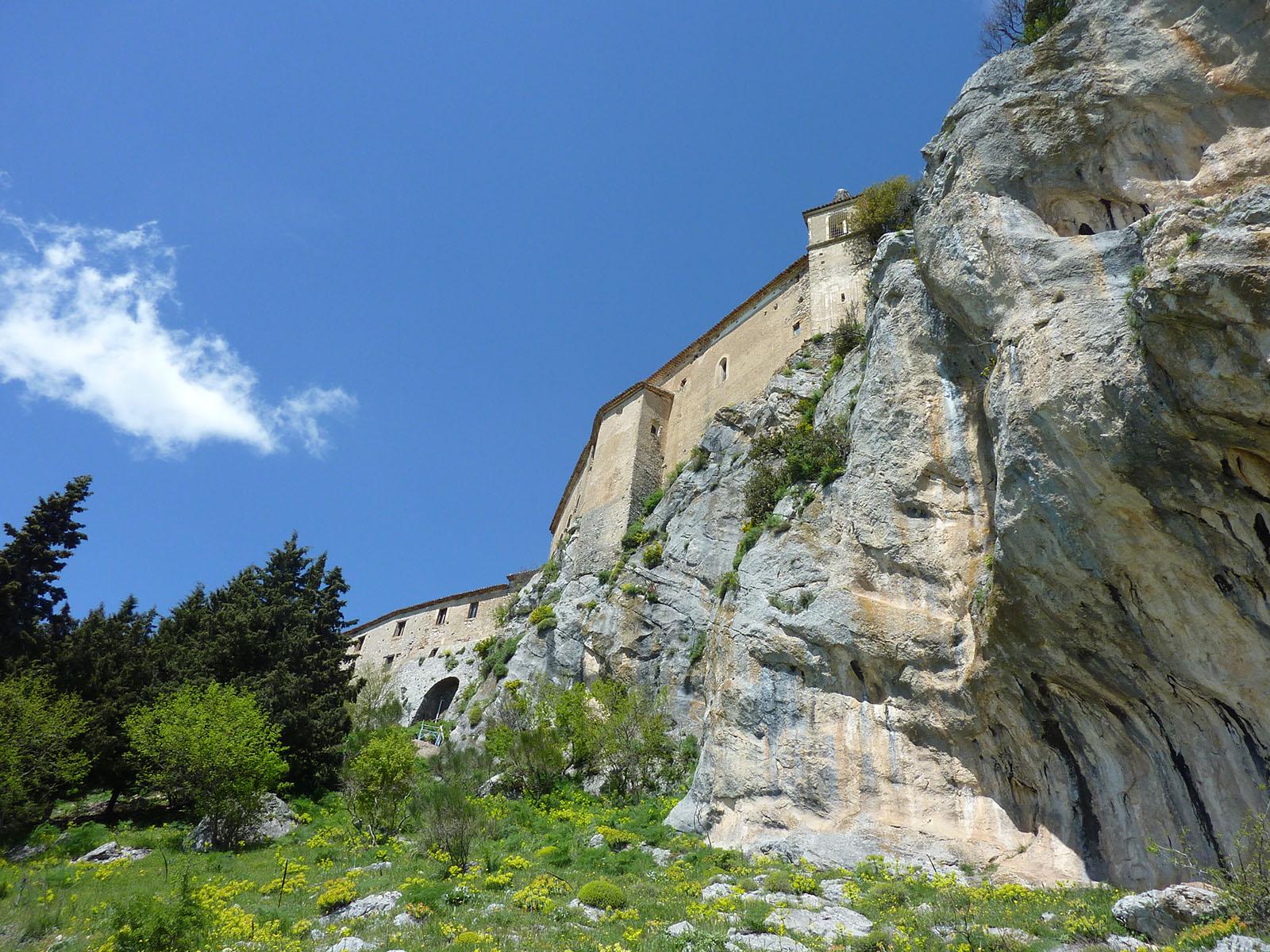 Cammino Basiliano 07 - Cerchiara - Civita: Santuario di Madonna delle Armi