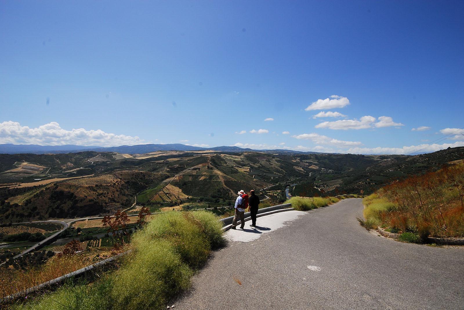 Cammino Basiliano: punto panoramico