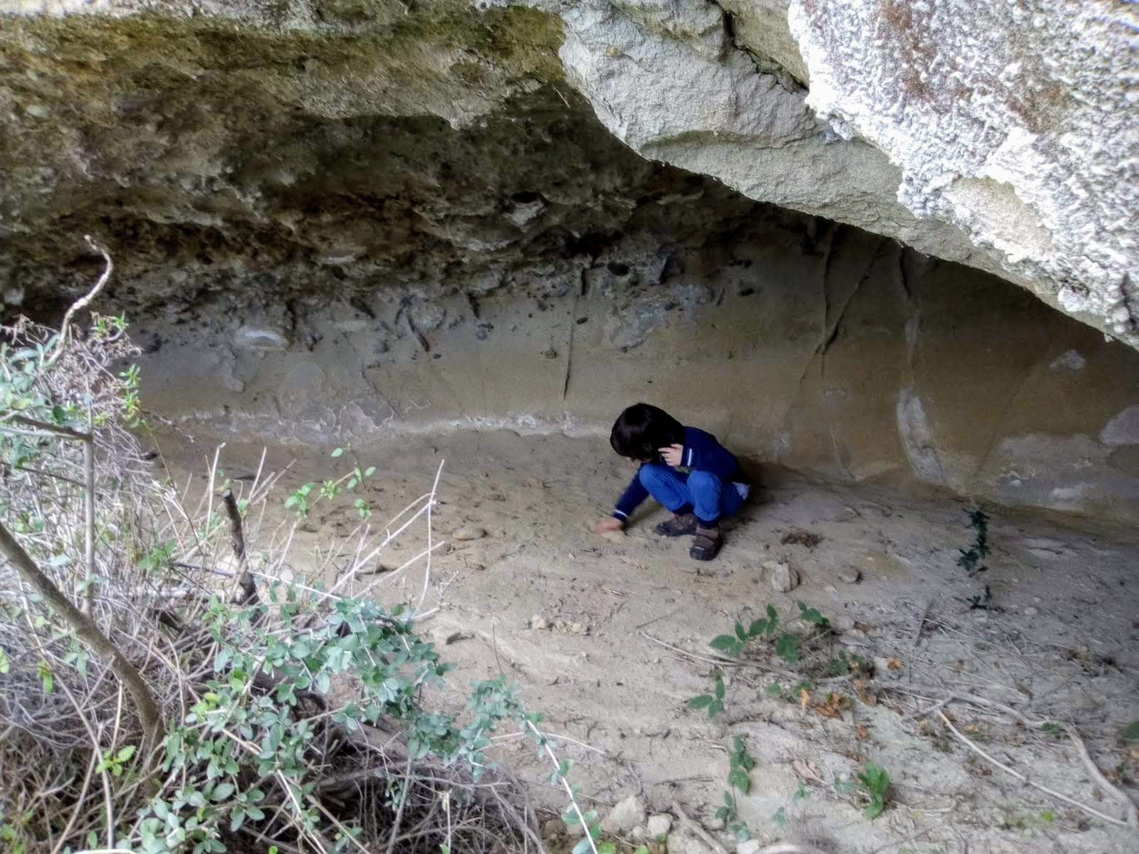 Paludi: grotta eremitica
