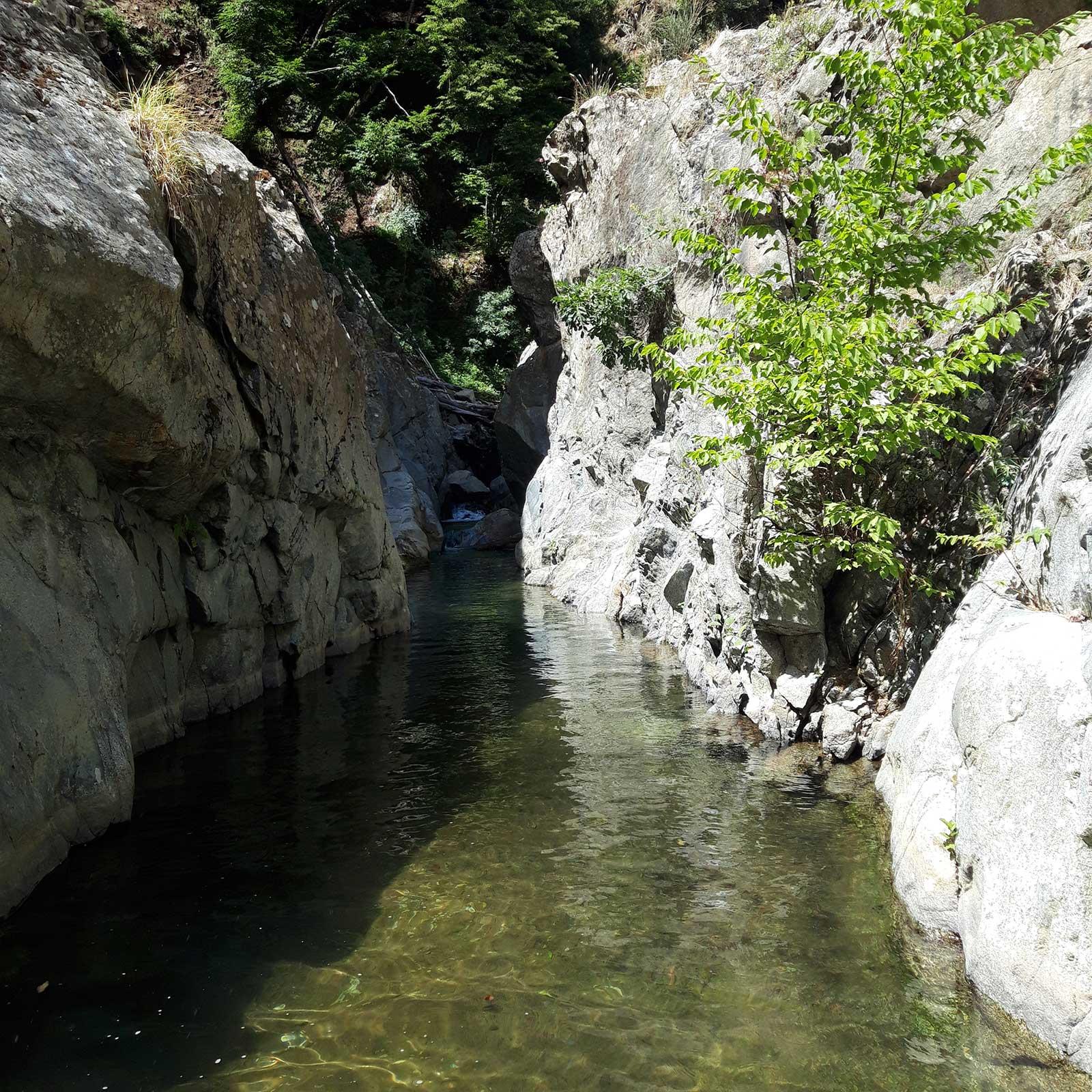 Cammino Basiliano: Gole del Trionto