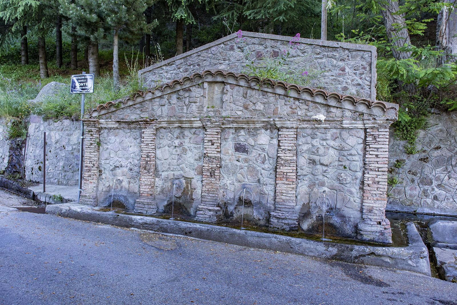 Savelli: Le quattro fontane