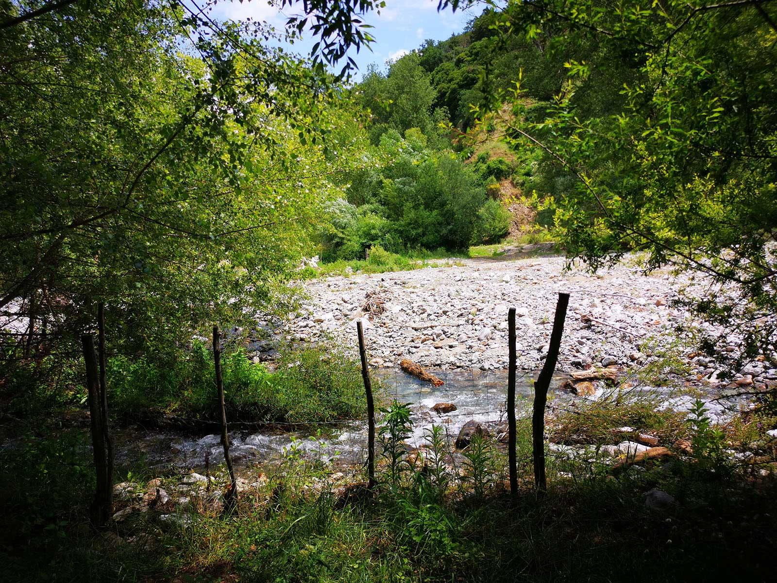 Attraversamento fiume Simeri