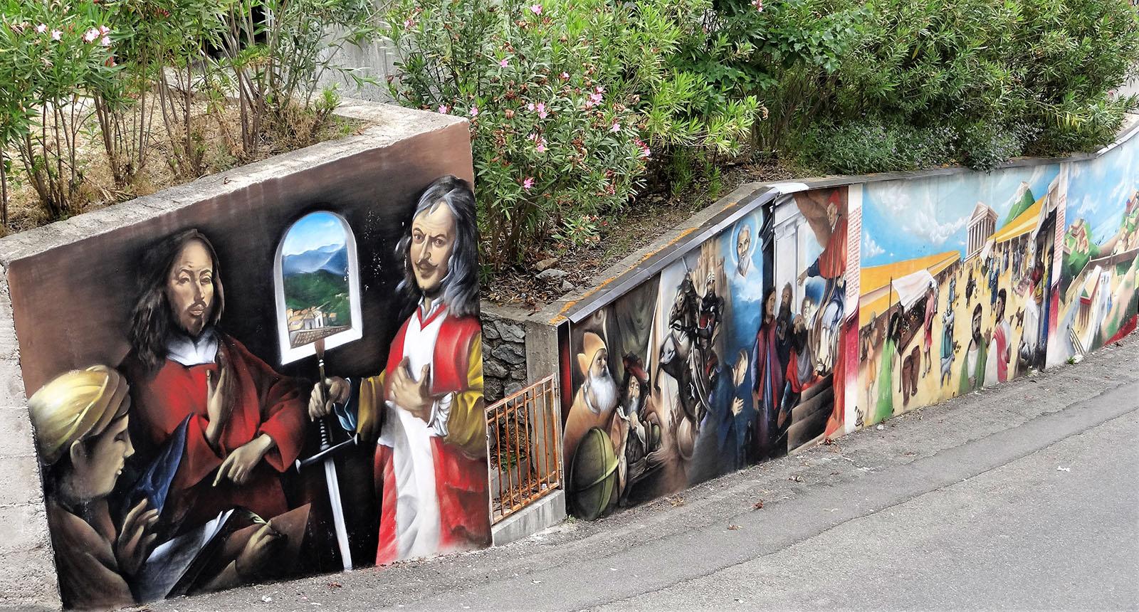 Borgo Savuci: murales