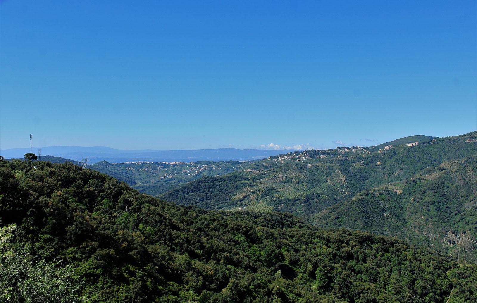 Panorama dal percorso