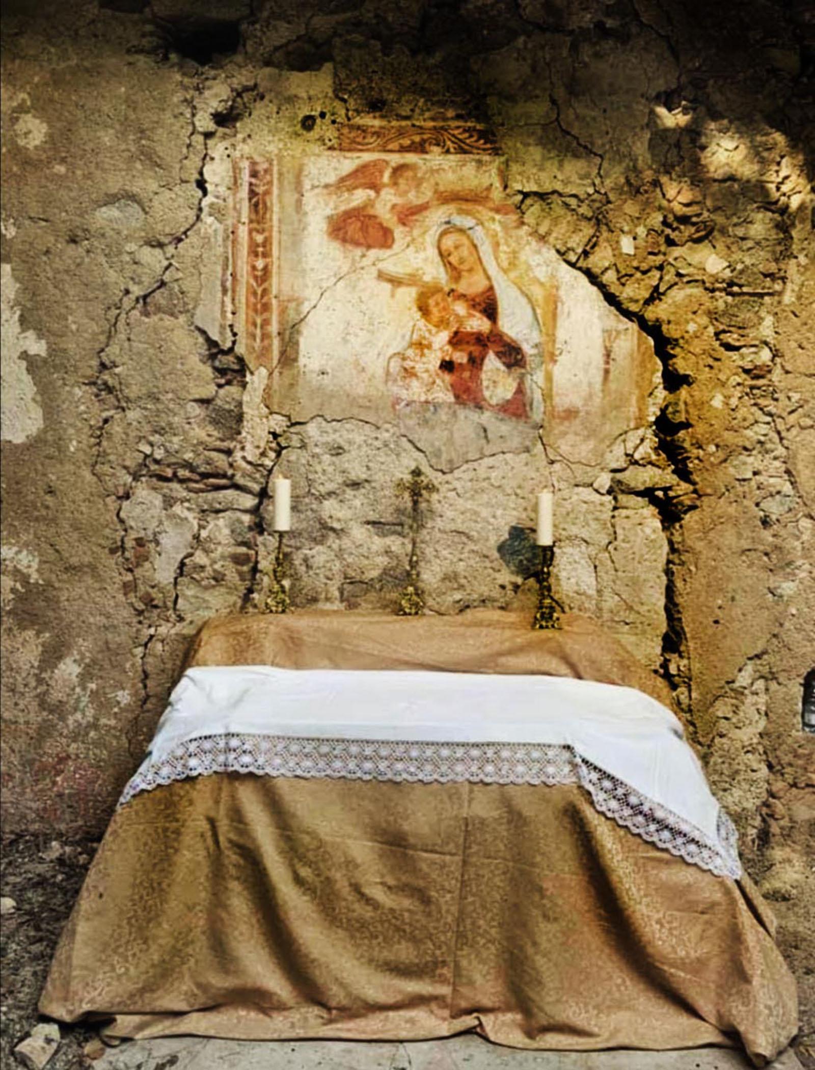 Ruderi santuario basiliano  Madonna della Neve