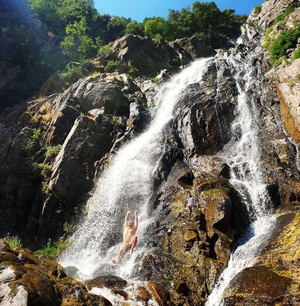 Cammino Basiliano: 49 Cascata del Marmarico
