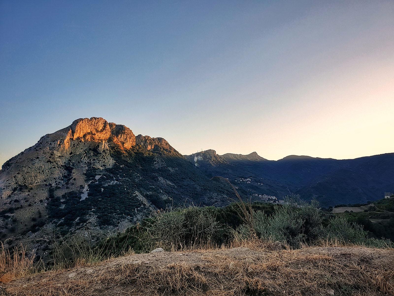 Vista sul monte Consilino