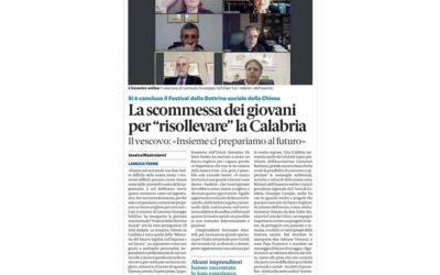 """La Gazzetta del Sud: la scommessa dei giovani per """"risollevare"""" la Calabria"""