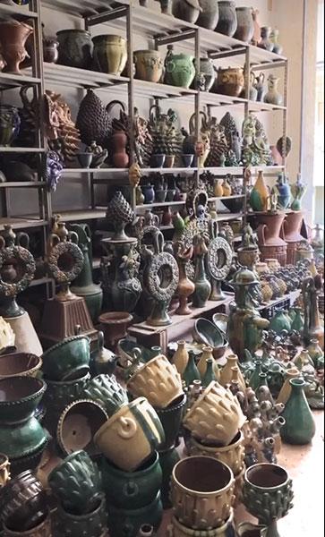 Cammino Basiliano: tradizioni - artigianato: Ceramice Ditto