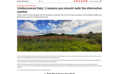 Wanderlust: Undiscovered Italy: 7 reasons you should walk the alternative camino