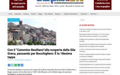"""Calabria.Live: Con il """"Cammino Basiliano""""alla scoperta della Sila Greca, passando per Bocchigliero"""