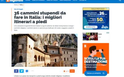 Zingarate: 36 cammini stupendi da fare in Italia: i migliori itinerari a piedi