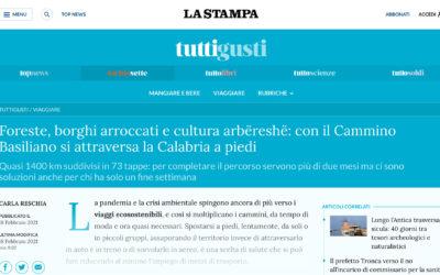 La Stampa: Foreste, borghi arroccati e cultura arbëreshë