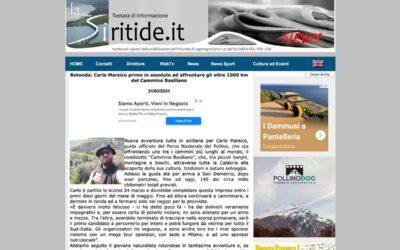 La Siritide – Rotonda: Carlo Marsico primo in assoluto …