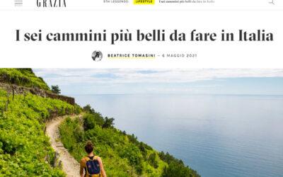 Grazia: I sei cammini più belli da fare in Italia